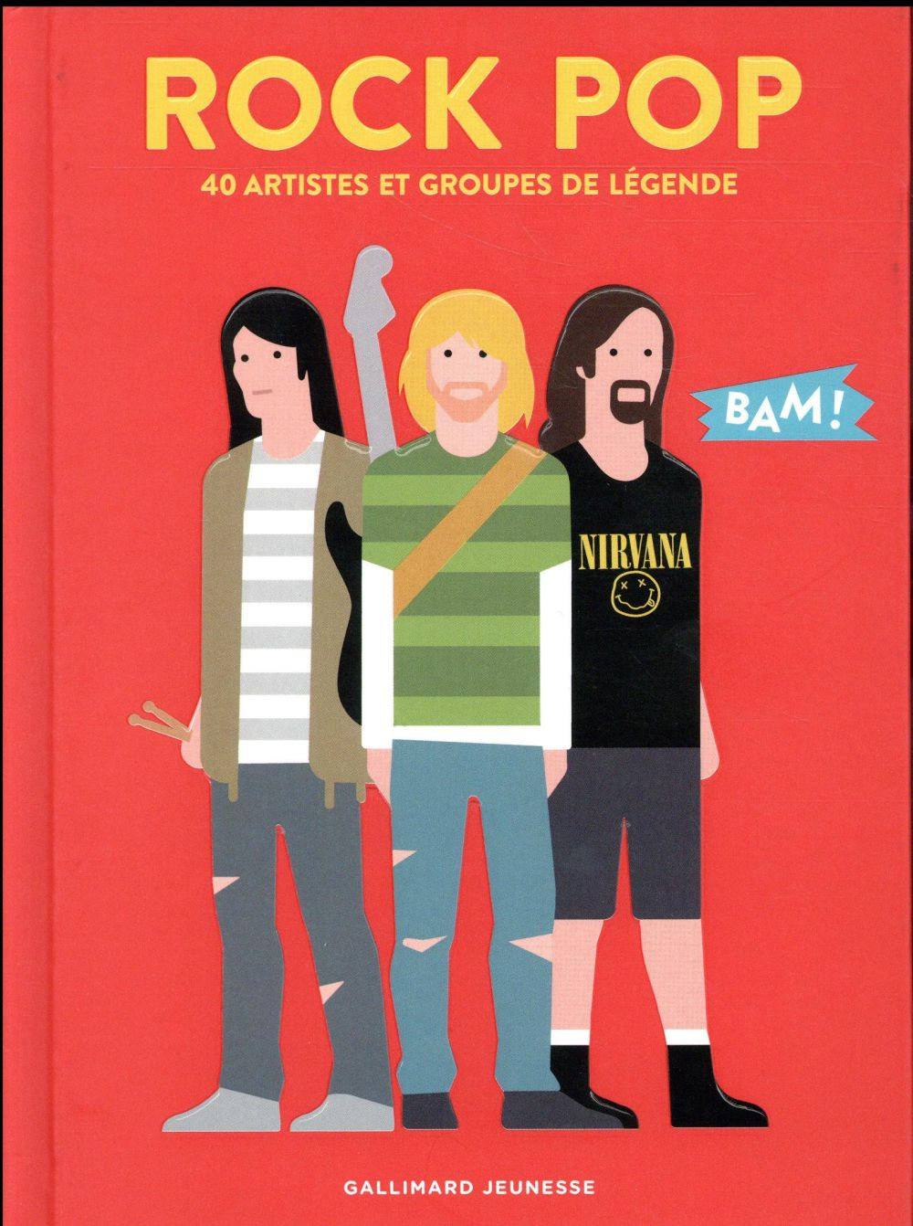 ROCK POP - 40 ARTISTES ET GROUPES DE LEGENDE
